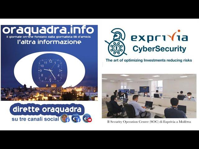 Come difendersi dai crimini informatici, ovvero la Cybersecurity di Exprivia
