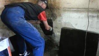 Czyszczenie mechaniczne  przewodów kominowych szczotkami