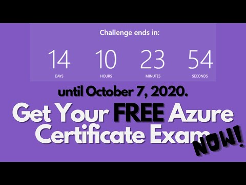 How to Complete Ignite Cloud Skills Challenge | Get Your Free Azure Certificate Voucher from YouTube · Duration:  4 minutes 53 seconds