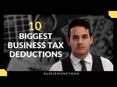 10 Biggest Australian Business Tax Deductions