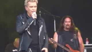 Billy Idol - Postcards from the past (Zitadelle Spandau 17.06.2014)