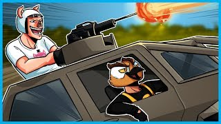 GTA 5 Online Funny Moments!  - SICK 1v3 CLUTCH in Motor Wars! (New Battle Royale Game Mode!)