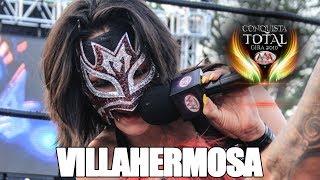 CONQUISTA TOTAL en VILLAHERMOSA   Lucha Libre AAA Worldwide