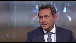 Strache (FPÖ) zur Flüchtlingspolitik