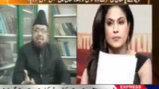 Veena Malik on Express News - Part 2 (ApniISP.Com)