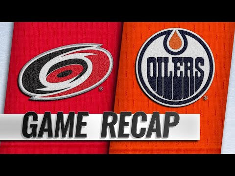 Niederreiter, Svechnikov power Hurricanes past Oilers