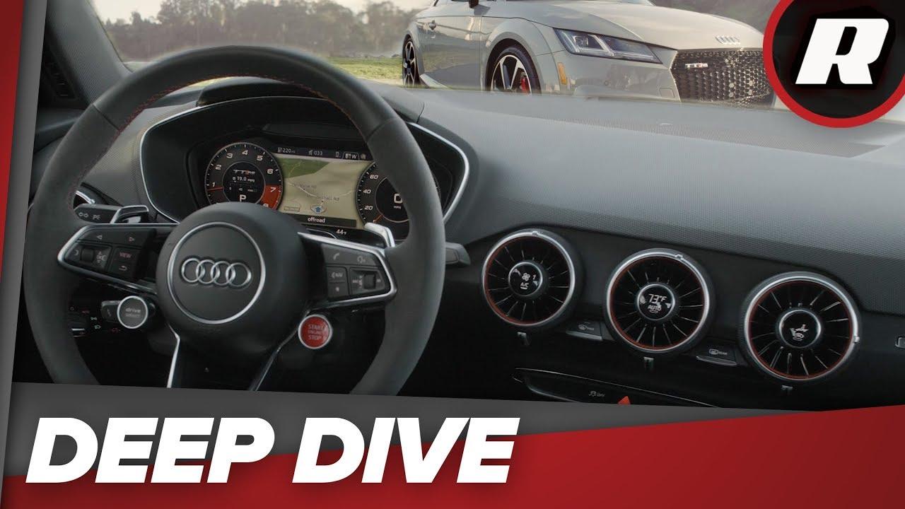 Showing Apple CarPlay on Virtual Cockpit of Audi A4 Premium