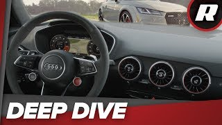 Inside the 2018 Audi TT RS - Virtual Cockpit, Android Auto, Apple CarPlay and more