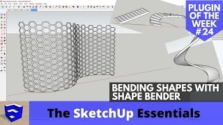 Video Bending Geometry in SketchUp with Shape Bender - SketchUp Plugin of the Week #24 download MP3, 3GP, MP4, WEBM, AVI, FLV Desember 2017