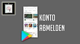 Google Play Store: Abmelden | So Gehts!