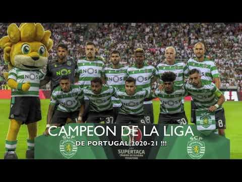 SPORTING DE LISBOA CAMPEON DE LA LIGA DE PORTUGAL 2021