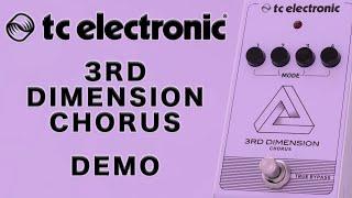 TC Electronic - 3RD Dimension Chorus - Demo