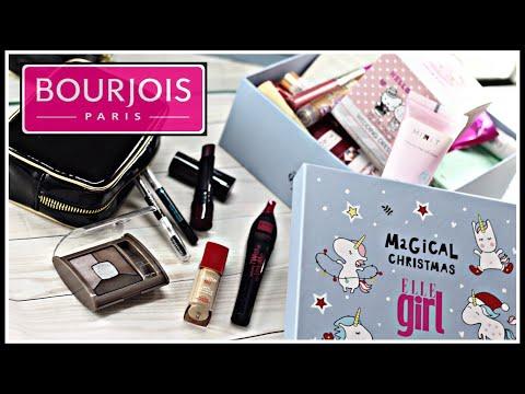 Все лицо одним брендом: BOURJOIS! +коробка с косметикой Royal Samples