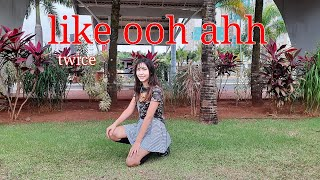 Twice (트와이스) like ooh ahh - dance cover - (aghata vicensotto…