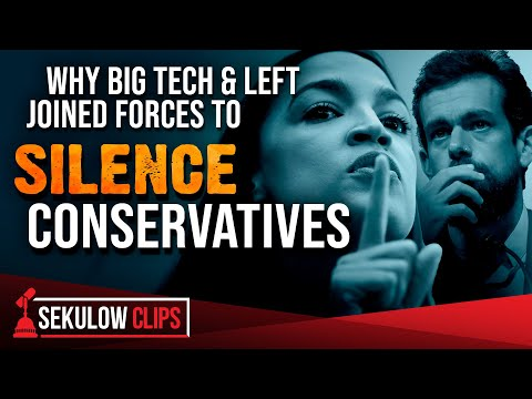 Why Big Tech & Left Joined Forces to Silence Conservatives