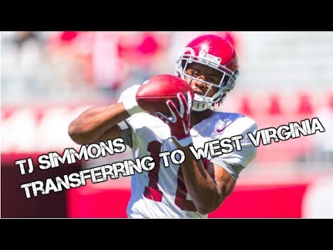 TJ Simmons transferring to West Virginia