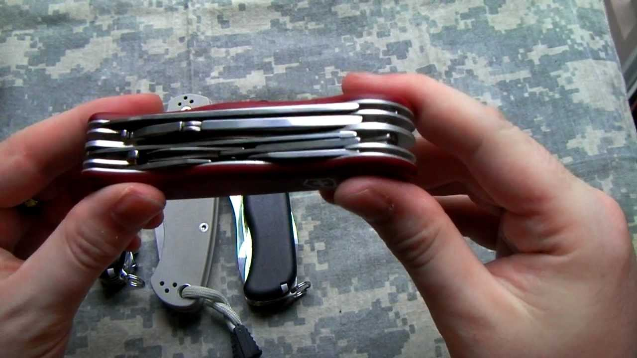 Victorinox Hercules Swiss Army Knife Review Youtube