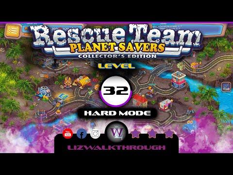 Rescue Team 11 - Level 32 Walkthrough (Planet Savers) |