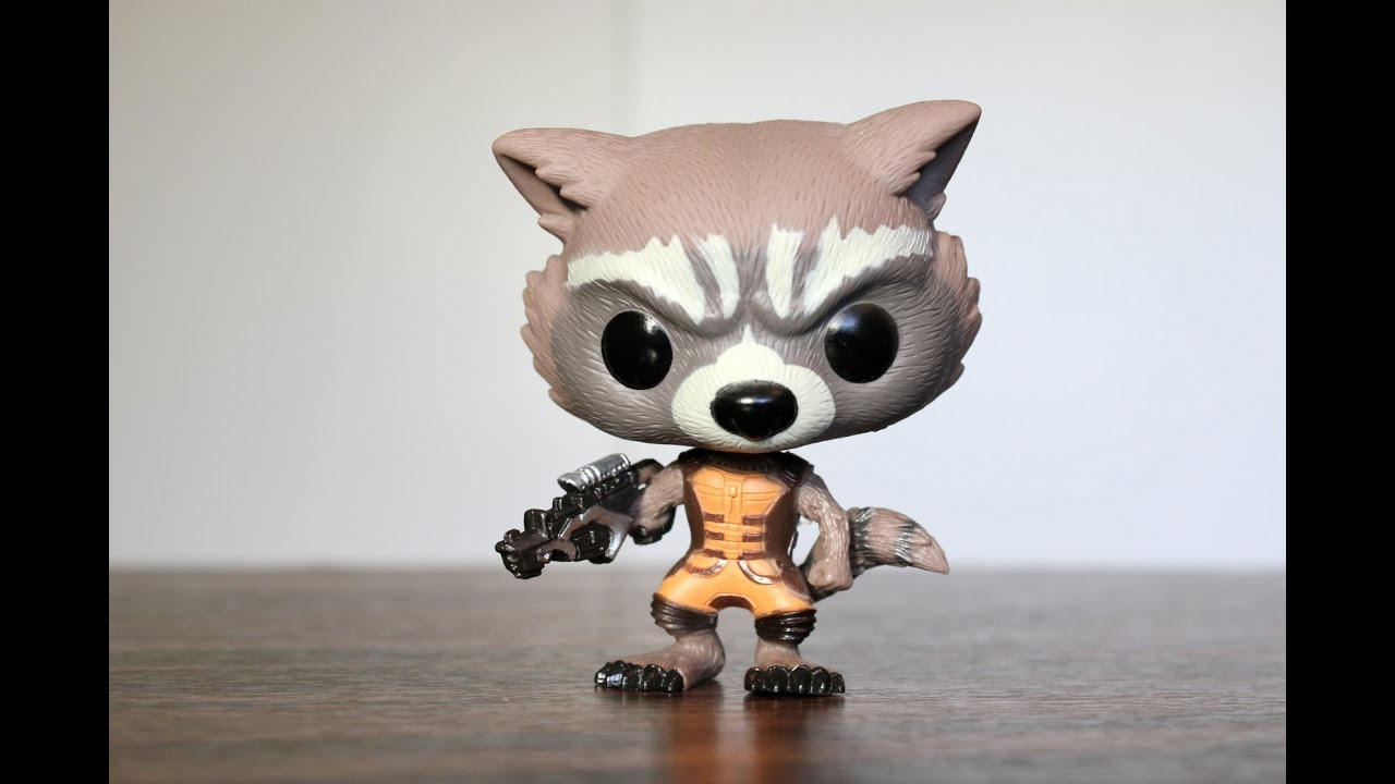Rocket Raccoon Guardians Of The Galaxy Funko Pop Review