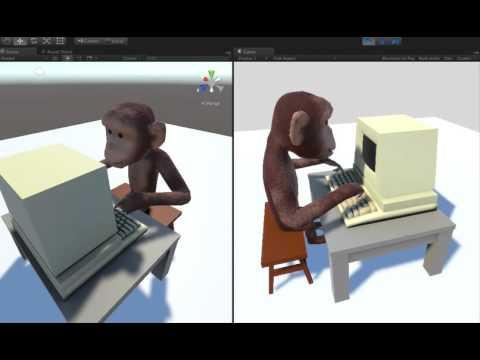Monkey typing - WIP