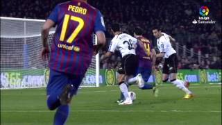 Resumen de FC Barcelona vs Valencia CF (5-1) 2011/2012