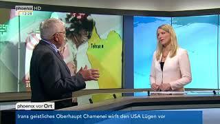 Wem nützt der Ausstieg der USA aus dem Atomabkommen mit Iran? - (ex-General) Harald Kujat