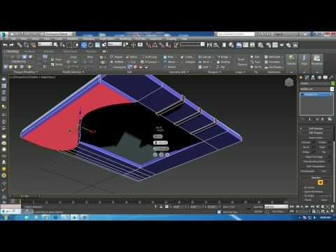 Tutorial On Modeling A Designer Ceiling In 3dsmax Youtube
