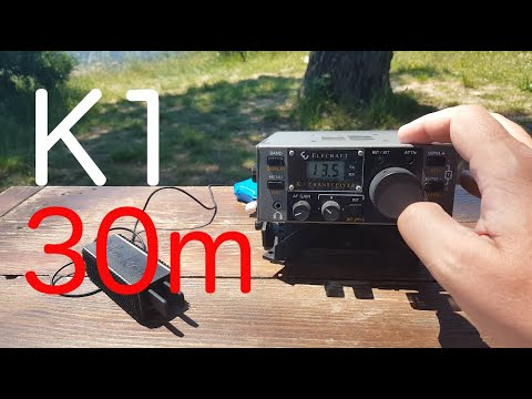 Quick Radio Check, Elecraft K1 on 30m