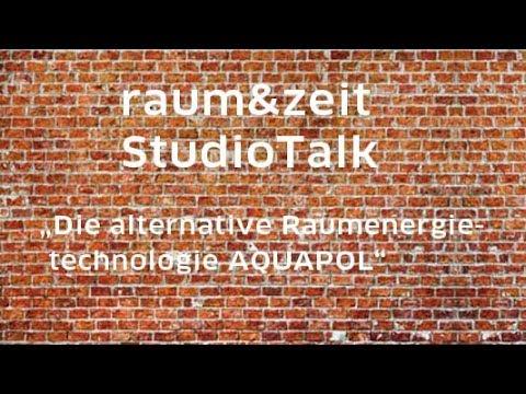 Wilhelm Mohorn: Die alternative Raumenergietechnologie AQUAPOL (raum&zeit Studio Talk)