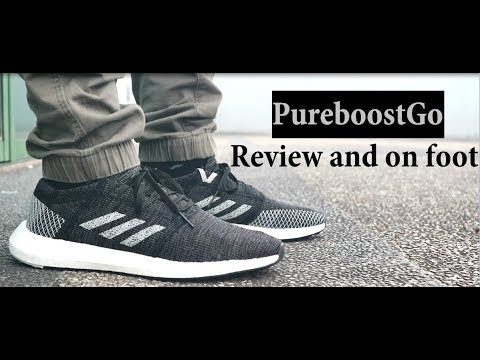 ADIDAS PUREBOOST GO! (review and on-foot) f57692a56