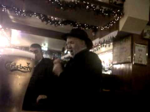 big pat ward in the old forge pub galway