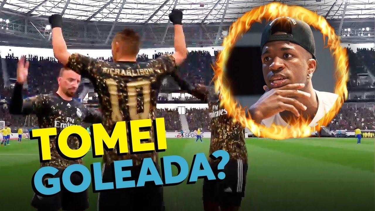 GAMEPLAY - VINI JR PASSANDO RAIVA NO FIFA 20!!