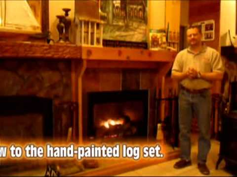 Empire Tahoe Direct Vent Fireplace - YouTube
