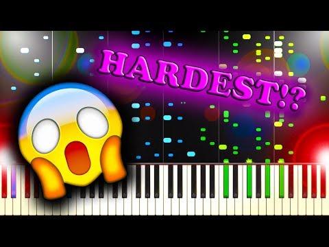 HARDEST PIANO TUTORIAL ON THE INTERNET?!