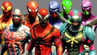 The Amazing Spider Man 2 All Costumes & DLC Costumes w/ Free Roam Gamplay
