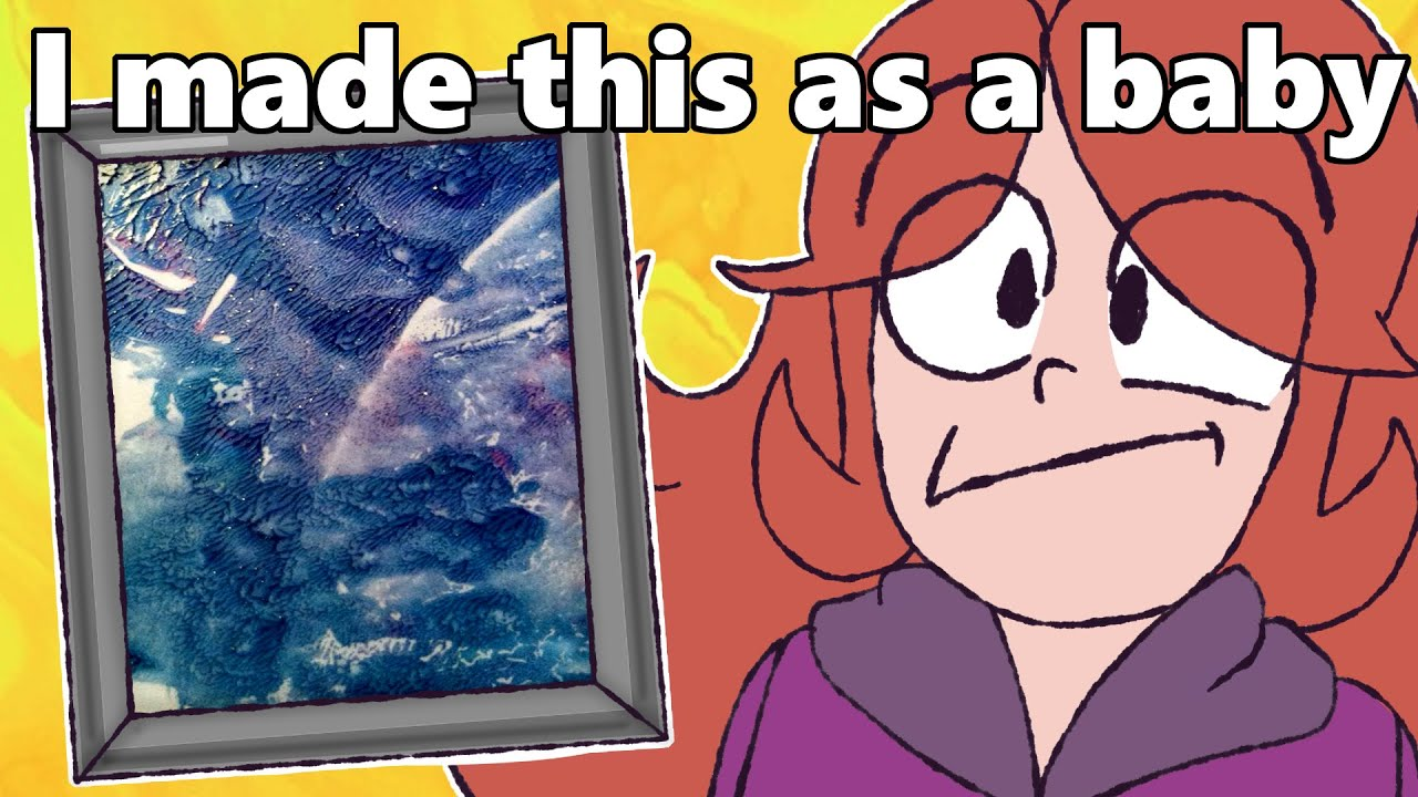 I tricked an art critic with a painting I made as a baby (Feat. @DaftPina)