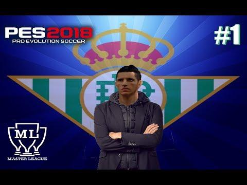 MASTER LIGA PES 2018   ( ps2 ) #1-  1° Rodada Na Liga Espanhola.