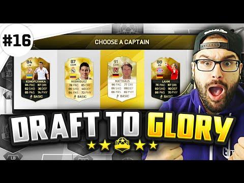 MY BEST FUT DRAFT WIN EVER! - FUT Draft to Glory #16 - FIFA 16 Ultimate Team