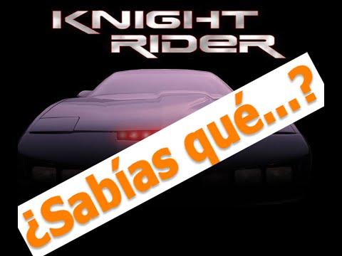 curisidades de la serie el auto fantastico (knight rider )