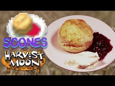 How To Make Harvest Moon Scones
