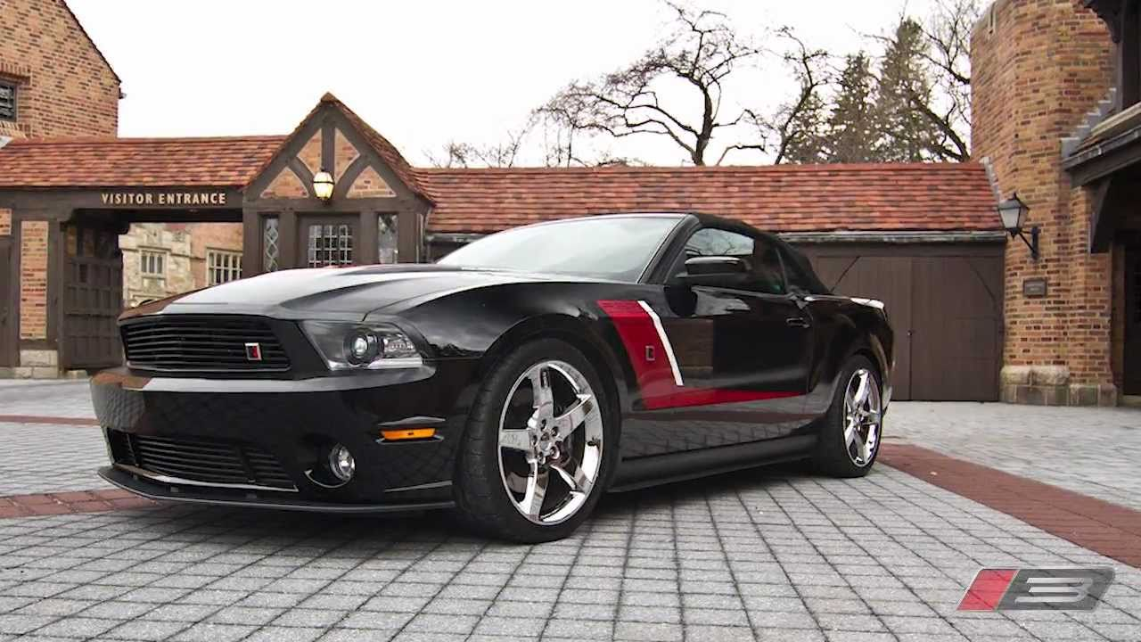 2012 ROUSH Stage 3 Mustang - DETROIT MUSCLE|REDEFINED - YouTube