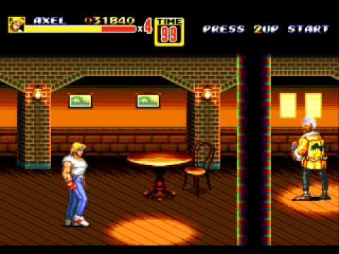 Street Of Rage 2 Pelea Callejera Gameplay Youtube