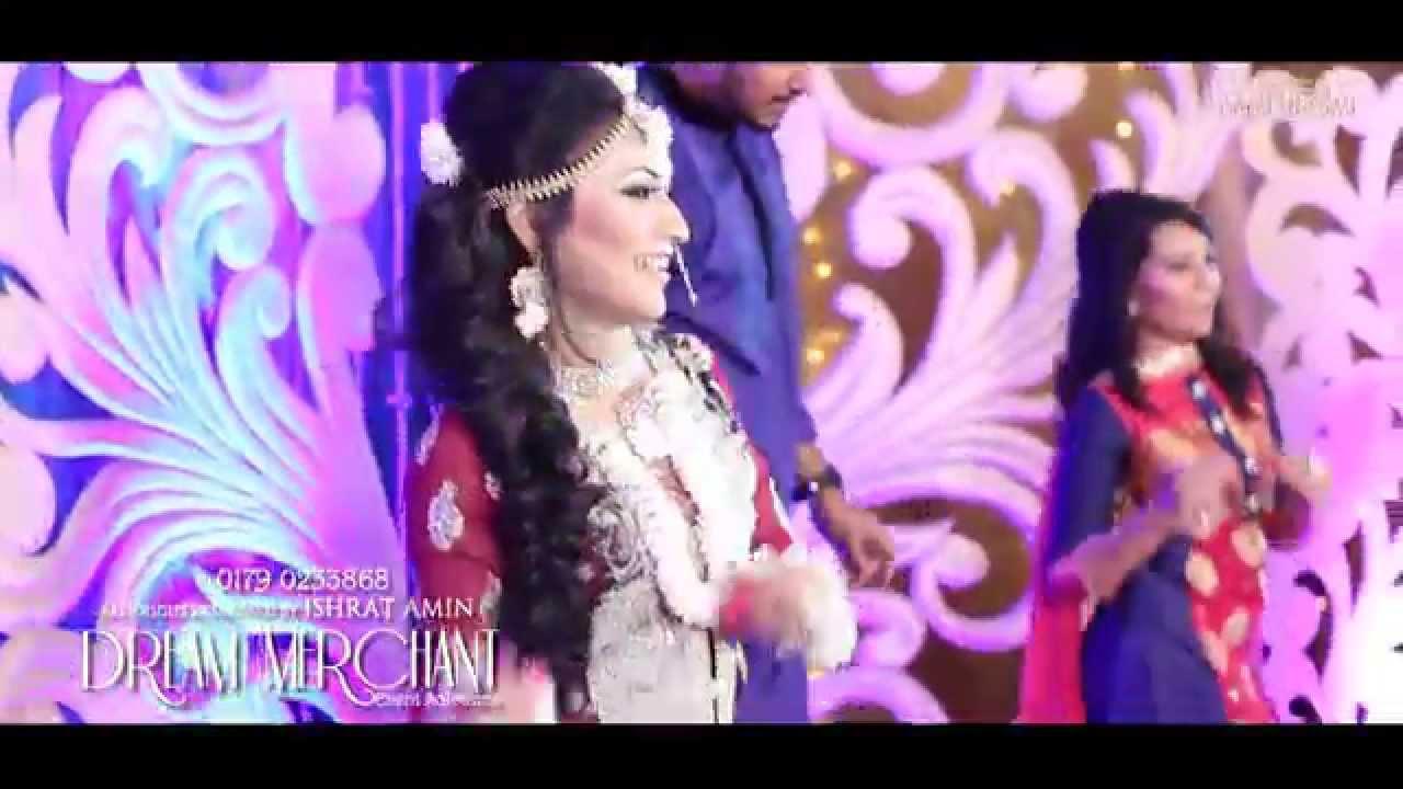ishrat and riyad performing on their sangeet night part1