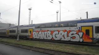 Subway Graffiti sncf