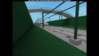 ROBLOX TGV Train derails.