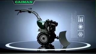 видео Мотоблок Caiman VARIO 60S TWK+