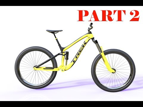 How to design a bicycle  in Solidworks part 2 ( Body Frame i)