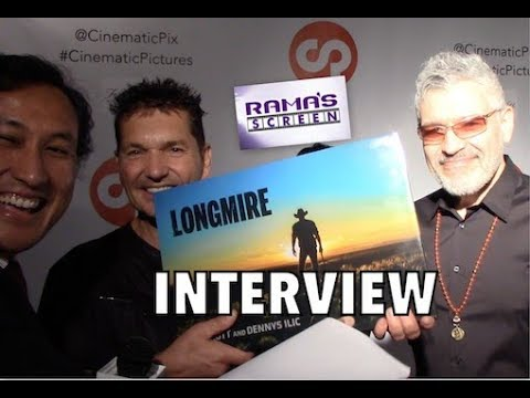 My  with T.J. Scott & Dennys Ilic  'LONGMIRE' A Cinematic Pictures Coffee Table Book