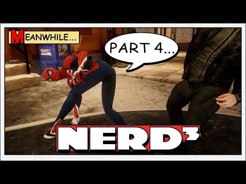 Nerd³ is Spider-Man - 4 - Spider Butt