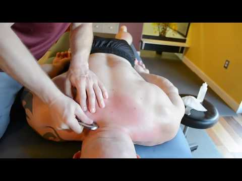Extreme Bodybuilder Massage | Opening Up